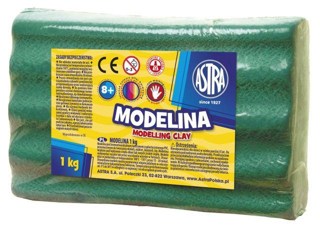 Plastelína ASTRA zelená 1 kg