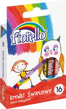 Voskovky Fiorello - 16 barev