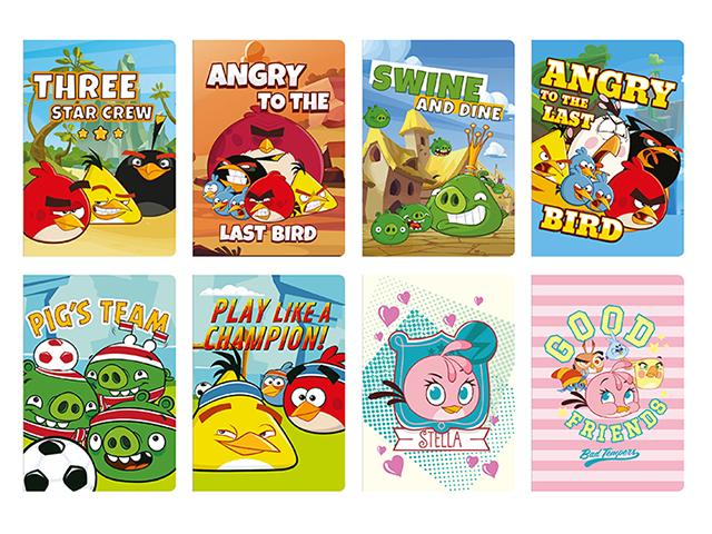 Sešit A5 čtvereček, Angry Birds film, 32 listů