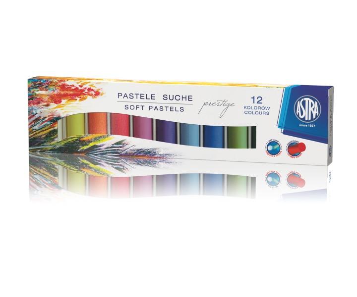 Suché pastely Astra Prestige - 12 barev
