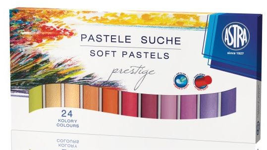 Suché pastely Astra Prestige - 24 barev