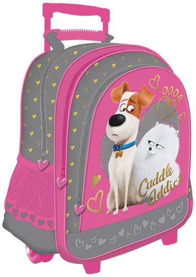 """Batoh na kolečkách 41 cm, 17 """" - Pets Girl"""