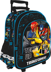 """Batoh na kolečkách 41 cm, 17 """" Transformers"""