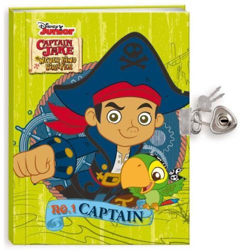 Deníček na zámek - Jake a piráti ze Země Nezemě