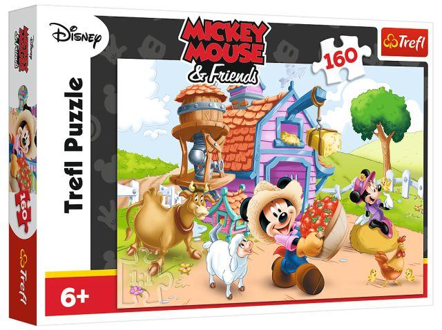 Puzzle 160 TREFL - Farmář Miki