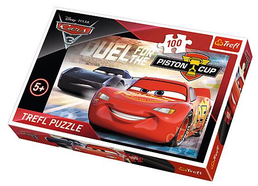 Puzzle Disney, 100 dílků, Cars - Pístový pohár