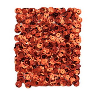 Kovové flitry DPCraft 9 mm - červené