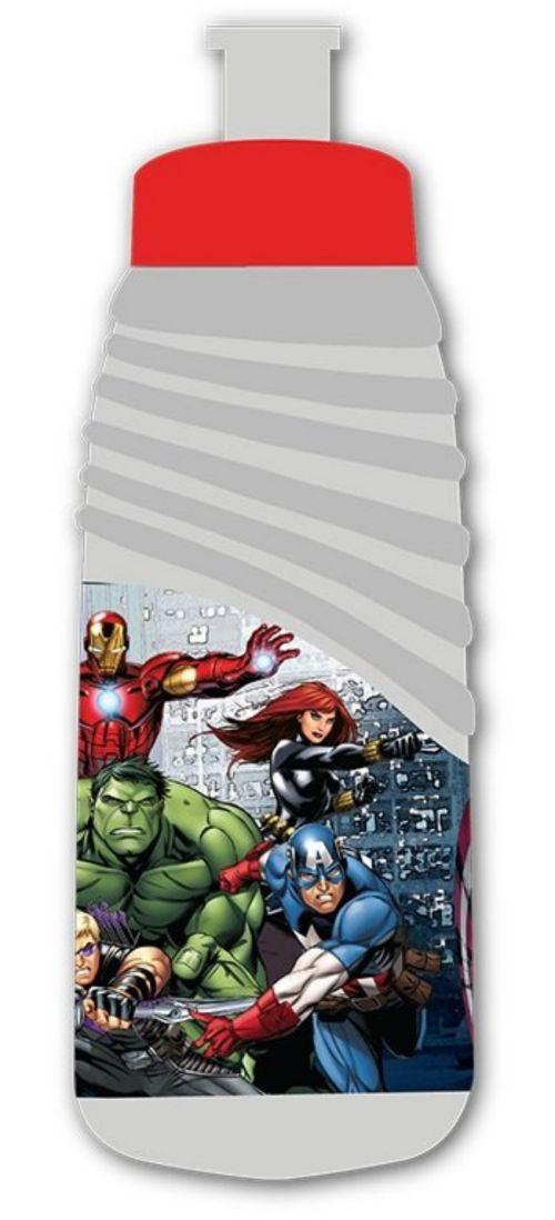 Plastová školní láhev na pití BENIAMIN - Avengers