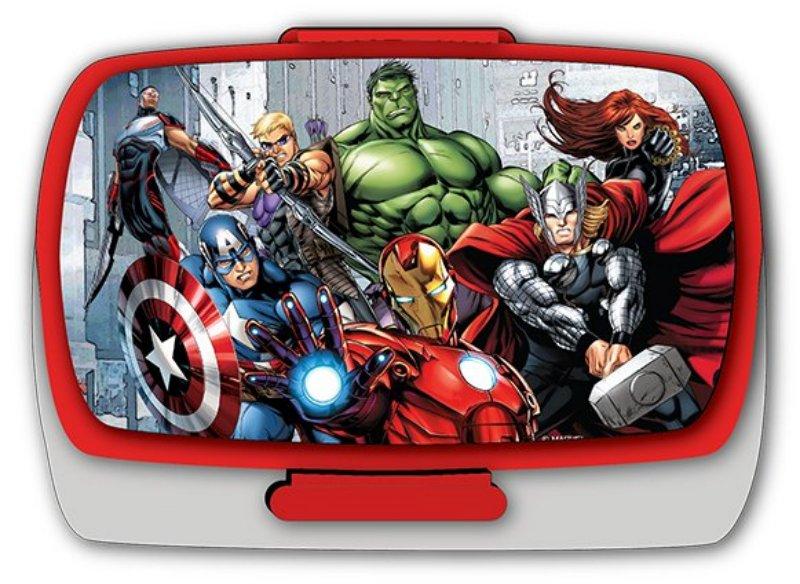 Školní svačinový box Avengers