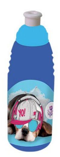 Plastová školní láhev na pití BENIAMIN - Pes