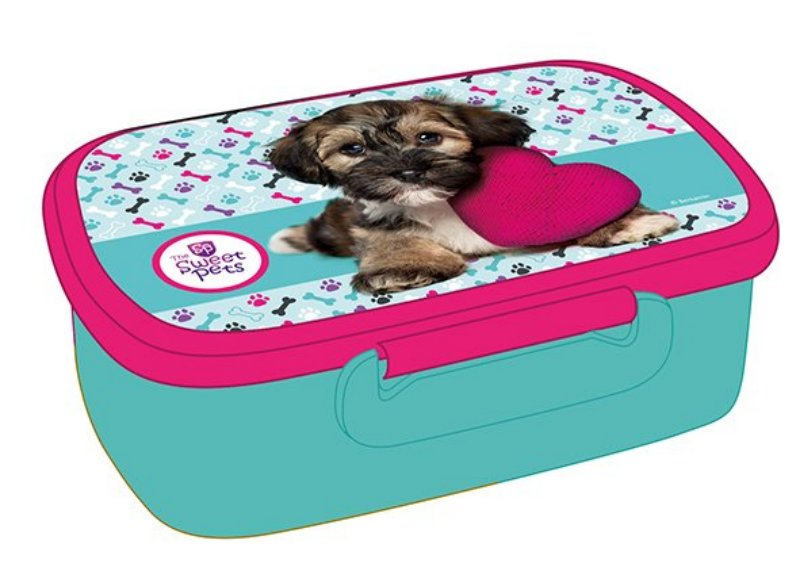 Školní svačinový box Pes