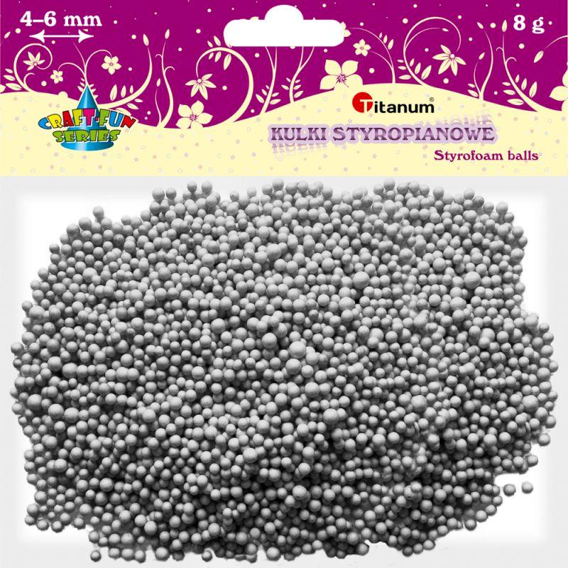 Polystyrénové kuličky TITANUM 3-5mm / 8g bilé