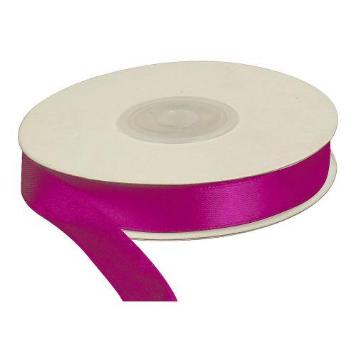 Saténová stuha 12 mm, 25 m, fialová