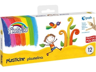 Plastelina FIORELLO 12 kolorów