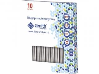 D³ugopis automatyczny ZENITH Silver - box 10 sztuk