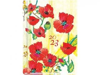 Kalendarz ksi±¿kowy MP A6 Ola 2021 - kwiatowa noc