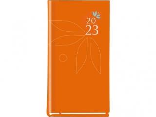 Kalendarz kieszonkowy MP Koloiber 2021  - pomarañczowy