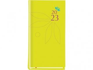 Kalendarz kieszonkowy MP Koloiber 2021  - ¿ó³ty