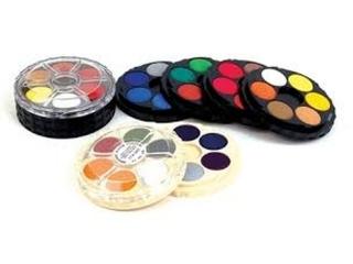 Farby akwarelowe KOH-I-NOOR 18 kolorów okr±g³e opakowanie