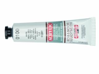 Farba akrylowa KOH-I-NOOR 40ml - White 0100