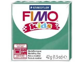 Kostka FIMO Kids, 42g, zielony, masa termoutwardzalna, Staed