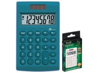 Kalkulator kieszonkowy TR-252, niebieski, Toor