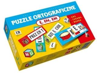 Puzzle MULTIGRA Ortograficzne Ê, EN, EM