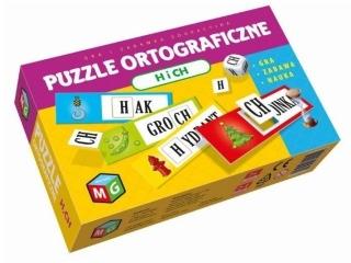 Puzzle MULTIGRA Ortograficzne H I CH