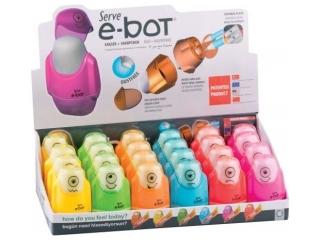 Gumka + temperówka SERVE E-bot 2 otw. x24 DISPLAY kolor MIX