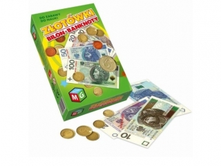 Z³otówki bilon - banknoty - do zabawy do nauki