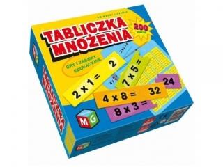 Gra MULTIGRA Tabliczka mno¿enia - Gry i zabawy edukacyjne