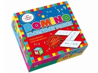 Gra MULTIGRA Domino matematyczne dodawanie i odejmowanie