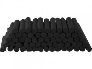 Plastelina w laseczkach luzem 1 kg. Czarna