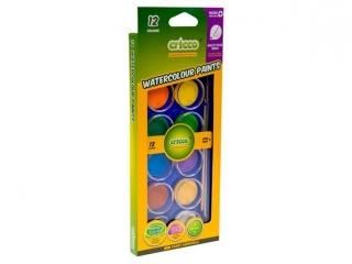 Farby wodne CRICCO 12 kolorów