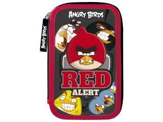 Piórnik z wyposa¿eniem trójkomorowy DERFORM Angry Birds 11