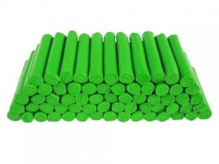 Plastelina w laseczkach luzem 1 kg. Jasno zielona