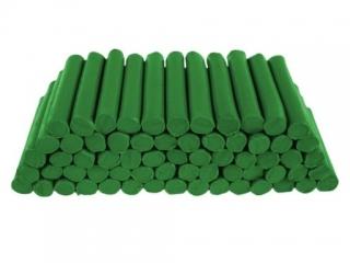 Plastelina w laseczkach luzem 1 kg. Ciemno zielona