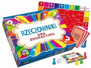 Gra MULTIGRA Edukacyjna - Rzeczowniki