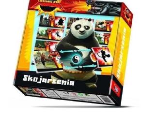 Gra JAWA Domino - Kung Fu Panda