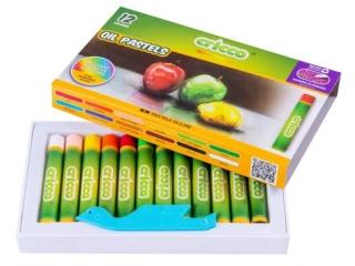 Pastele olejne CRICCO 12 kolorów Zestaw promocyjny z j. Angi