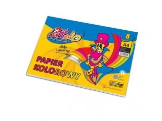 Zeszyt papierów kolorowych A4 PASTELLO