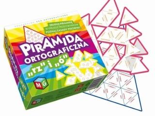 "Gra MULTIGRA Piramida ortograficzna ""rz"" i ""ó"""