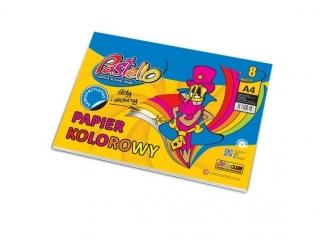 Zeszyt papierów kolorowych A4 samoprz. PASTELLO