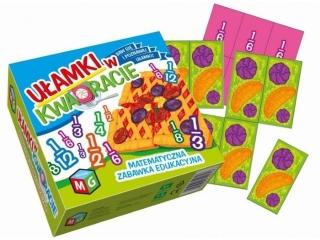Gra MULTIGRA U³amki w kwadracie - matematyczna zabawka edukacyjna