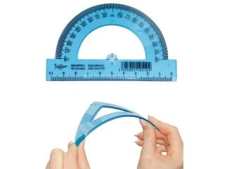 K±tomierz FAPI 10cm z linijk± Unbreakable elastyczny