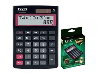 Kalkulator dwuliniowy TOOR TR-2429DB-K 10-pozycyjny