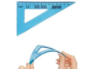 Ekierka FAPI 16cm/60o Unbreakable elastyczna