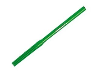 Pisaki cienkie - zielone FIBRACOLOR 25szt.