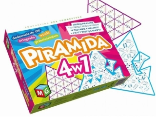 Gra MULTIGRA Piramida 4w1