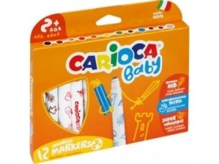 Pisaki CARIOCA Super Baby 12 kolorów